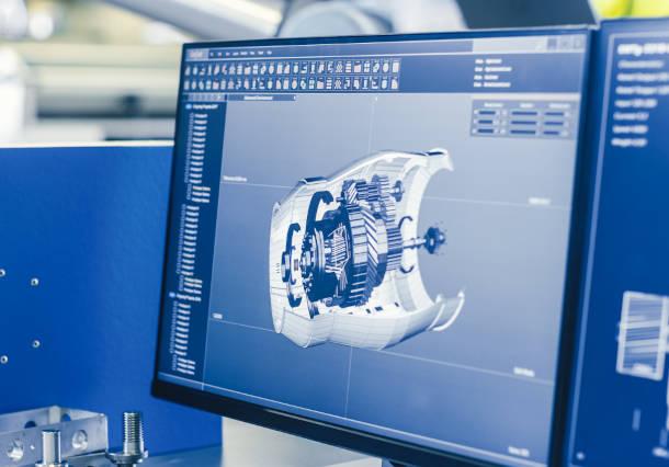 CAE解析のためのCADデータ変換や熱伝導・熱解析シミュレーションなどの技術例