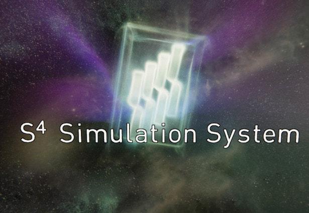 Unity のパーティクルシミュレーションシステムで S<sup>4</sup> Simulation System の Logo動画を作ってみた